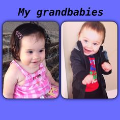 My beautiful grand babies