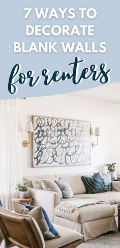 Removable Backsplash, Budget Home Decorating, Decorating Ideas, Small Apartment Living, Removable Wall Murals, Temporary Wallpaper, Coastal Bedrooms, Traditional Wallpaper, Blank Walls