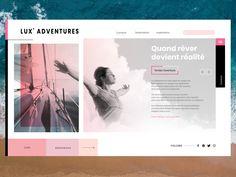 Lux Adventures designed by Anais Calmon. Saint Charles, San Luis Obispo, Show And Tell, Inspiration, Adventure, Marina Del Rey, Biblical Inspiration, Adventure Movies, Adventure Books