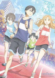 Kirito, Asuna, Sinon and Sugu