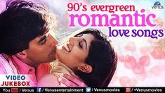 90's Evergreen Romantic Love Songs   Top 21 Bollywood Hindi Songs   VIDE...