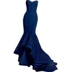 Polyvore Fall/Winter 2013/14 ❤ liked on Polyvore featuring dresses, gowns, vestidos, long dresses, blue ball gown, blue gown, blue evening gown and blue evening dresses