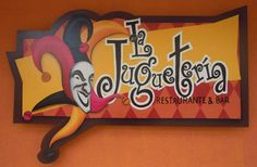 La Jugueteria - Toys, toys and more toys is the theme of this restaurant.