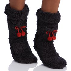 MINX Women's Super Fluffy Socks | Overstock.com Shopping - The Best Deals on Socks