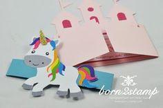 born2stamp Einhorn Unicorn Party Einladung invitation Mehr