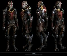 I was responsible for the design and model of the first Female Turian on the Mass Effect game series for the Omega DLC. One of the best experiences i had so far on this industry! Thanks to Rodrigue Pralier and Herbert Lowis.