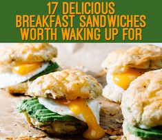 17 Delicious Breakfast Sandwiches Worth Waking Up For