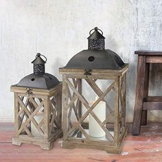 Our rustic lanterns come in a wide variety of sizes, styles and finishes. Shop and find the perfect ones for your design ideas. Rustic Lanterns, Candle Lanterns, Scented Pillar Candles, Lantern Set, Diy Rustic Decor, Aromatherapy Candles, Decorative Pillows, Wood Carvings, Wooden Blocks