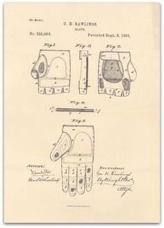 Baseball trivia and origins—including the origins of the baseball glove.