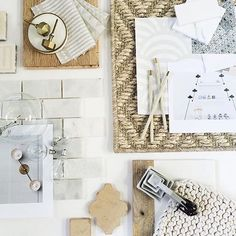 I spy some Walter G Textiles 👀👀 No one does a mood board quite like @mindygayer .... lucky clients! Featuring Walter G's Dash Dot, Huts, and Pyramids all in Chalk. . . . . Available through our showrooms | USA @studiofournyc @nickyrisingltd @jamesshoroom | Canada @memoshowroom | Australia @ascraft_textiles | UK @alicelily_interiors