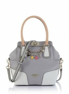 Borse Guess Primavera Estate 2017 Grigio Bags Grey