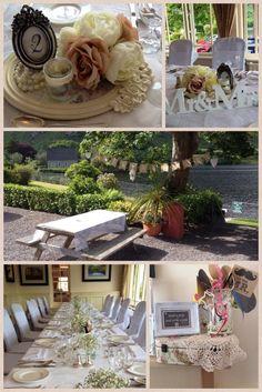 Carol and Jack's Vintage Wedding at Gougane Barra Hotel Romantic Weddings, Hush Hush, Weddingideas, Our Wedding, Wedding Flowers, Congratulations, Marriage, Table Decorations, Celebration