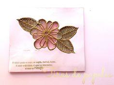 shaker card flower