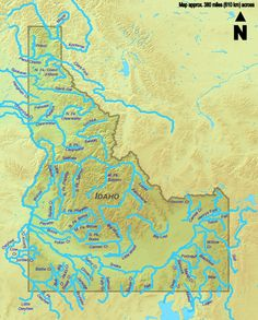 All 70 #Idaho streams more than 50 miles (80 kilometers) long in one place with a clickable map.  Hard to pick just one to float or fish.   Visitidaho.org