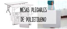 ¿Buscas mesas plegables de polietileno de alta densidad? Aquí te dejamos las características de nuestras mesas plegables de polietileno de alta densidad.