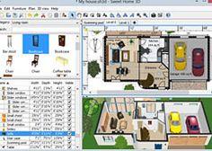 Plan maison 3d logiciel gratuit pour dessiner ses plans for Logiciel amenagement interieur 3d
