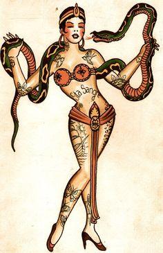 Santa Sangre Tattoo Flash | KYSA #ink #design #tattoo