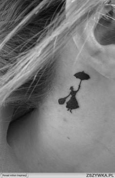 mary poppins tattoo so cute