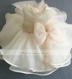 Girly Shop's Ivory Flower girl dresses
