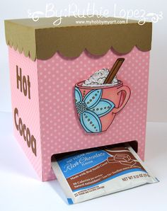 Limite Run - Flower Mug - Chocolate Dispenser - Ruthie Lopez - My Hobby My Art