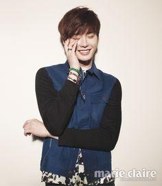 Lee Jong-seok // Marie Claire Korea // April 2013