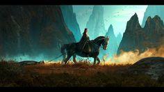 Sansa with Littlefinger...