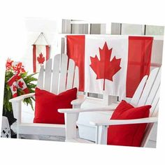 Shop Michaels Weekly Ad to find deals and coupons on arts & crafts, custom framing, home decor, seasonal products and more! Canada Day Crafts, Canada Day Party, Summer Mantel, Fall Decor, Holiday Decor, Holiday Ideas, Canada House, Canada Holiday, Red Cottage