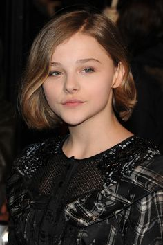"""Chloe Grace Moretz Chloe Moretz on the red carpet at the """"Harry Potter And The Deathly Hallows: Part 1"""" premiere held at Odeon Leicester Square in London."""