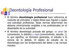 Deontología profesional