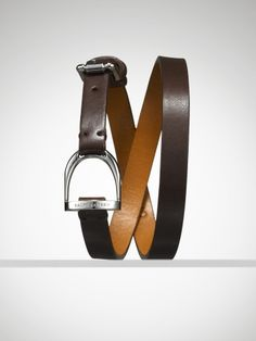 Ralph Lauren Leather Stirrup Wrap Bracelet