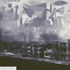 ... et #Homs se meurt. Le #Guernica multiplié par 6 de la #Syrie creativememory.org