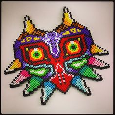 Majora's Mask perler beads by epicquests4crafts