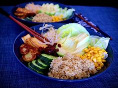 Buddha bowl s quinoou Buddha Bowl, Tofu, Quinoa, Grains, Rice, Seeds, Laughter, Jim Rice, Korn