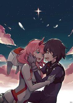 Zero two e hero Darling in the franXx Manga Anime, Otaku Anime, Anime Art, Me Me Me Anime, Anime Love, Querida No Franxx, Koro Sensei, Nagisa Shiota, Applis Photo