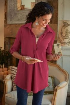 Toujours Tunic I from Soft Surroundings