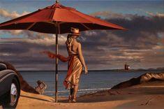Путешествующие женщины в картинах Перегрина Хиткота (13 фото)