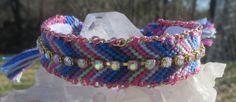 Multicolor Boho Chic Luxury Friendship bracelet by BeeboANDBijou