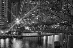Michigan Ave Bridge by Jeff Lewis