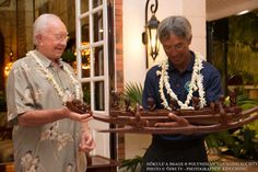 Ceremony inducts Hokulea master navigator into Order of Tahiti Nui