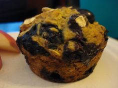 vegan blueberry oatmeal muffins for my hubby