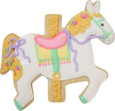cute cookie horses for carousel