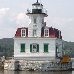 Hudson River Lighthouse~New Jersey Scenic Photography, Night Photography, Landscape Photography, True Homes, Beacon Of Light, Home Of The Brave, Hudson River, Hudson Valley, East Coast