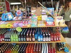Rocket fizz! A soda and candy shop!
