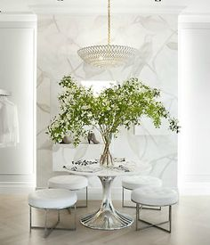 oversized centerpiece, dining room, earthy decor, white homes,@RyanKorban , Best Interior Design, Top Interior Designers, Home Decor Ideas, Decor Tips, Contemporary design. For More News: http://www.bocadolobo.com/en/news-and-events/
