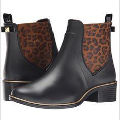 Kate Spade Sedgewick Rain Boot Amazing leopard print Kate Spade Sedgewick Rain Boot, new in box!! kate spade Shoes Winter & Rain Boots