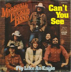 the marshall tucker band- album cover. Can't You See