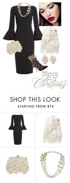 """""""Untitled #902"""" by belinda54-1 ❤ liked on Polyvore featuring Michael Kors, Rodarte, Chanel and Fred Leighton"""