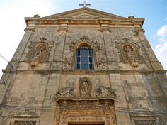 Martano (Lecce, Italy) - Facade of the Church of the Immaculate