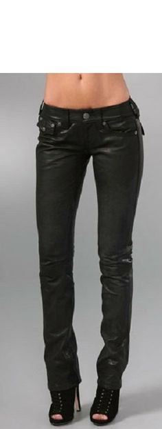 Women's leather pant women black leather pant  by Myleatherjackets, $119.99