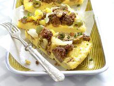 Günstig kochen: Spanische Kartoffel-Hack-Tortilla